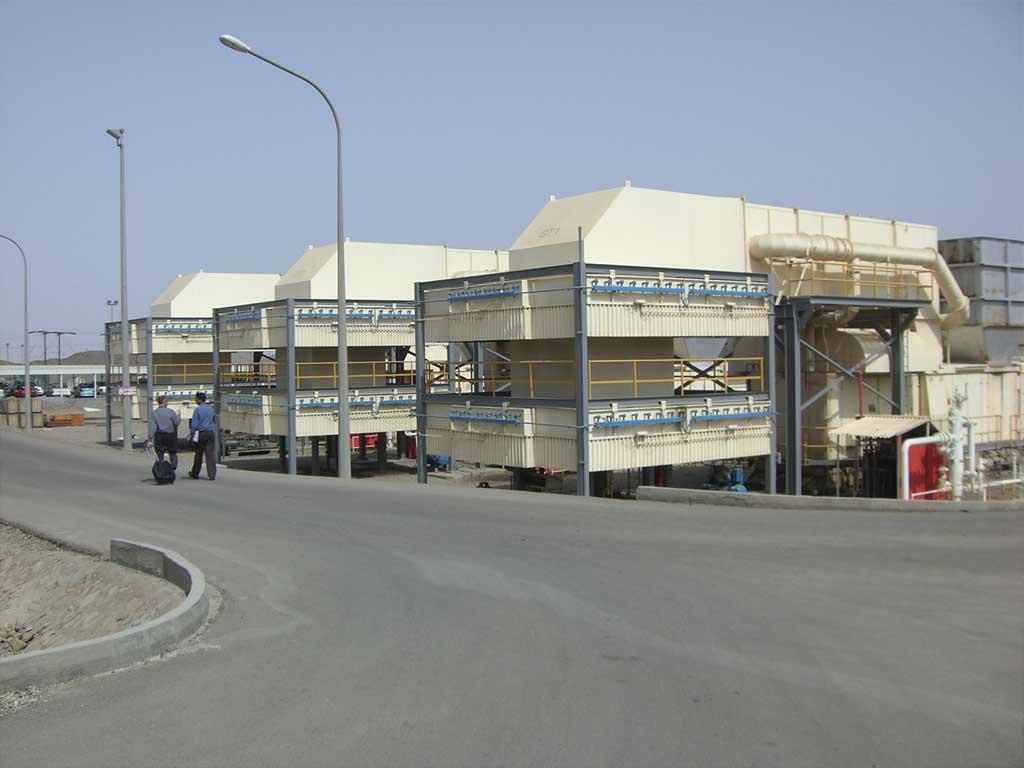 Gasturbinenkraftwerk Oman