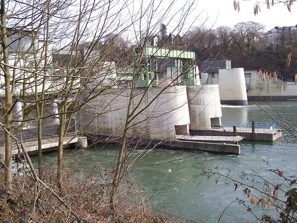 RWE Wasserkraftwerk Baldeney