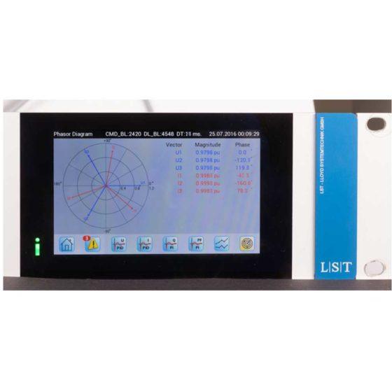 IREG Touch Display: Vektordarstellung Ugen, Igen