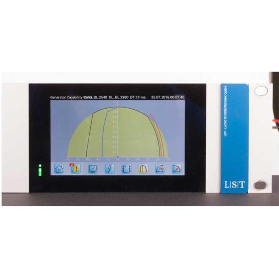IREG Touch Display: Darstellung des Leistungsdiagramms des Generators