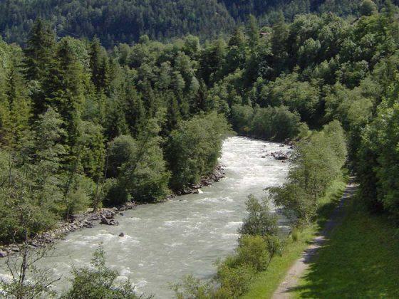 Oetztaler-Ache Wasserkraftwerk